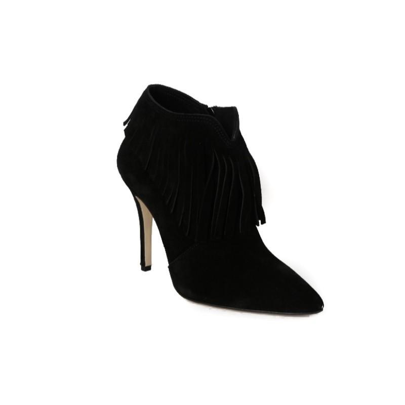 a152ee83ab Fardoulis Shoes Γυναικεία Μποτάκια Αστραγάλου Καστόρι 02009 Μαύρο Fardoulis  shoes 02009