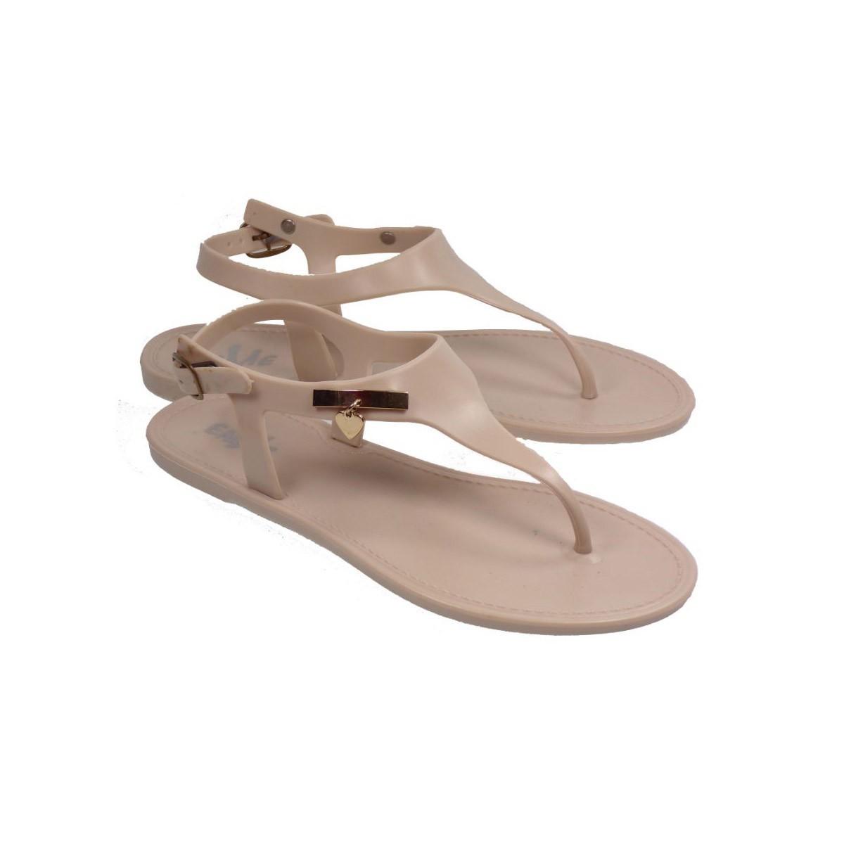 29b8f8621b7 Envie shoes Γυναικεία Πέδιλα 46-5050 Μπεζ