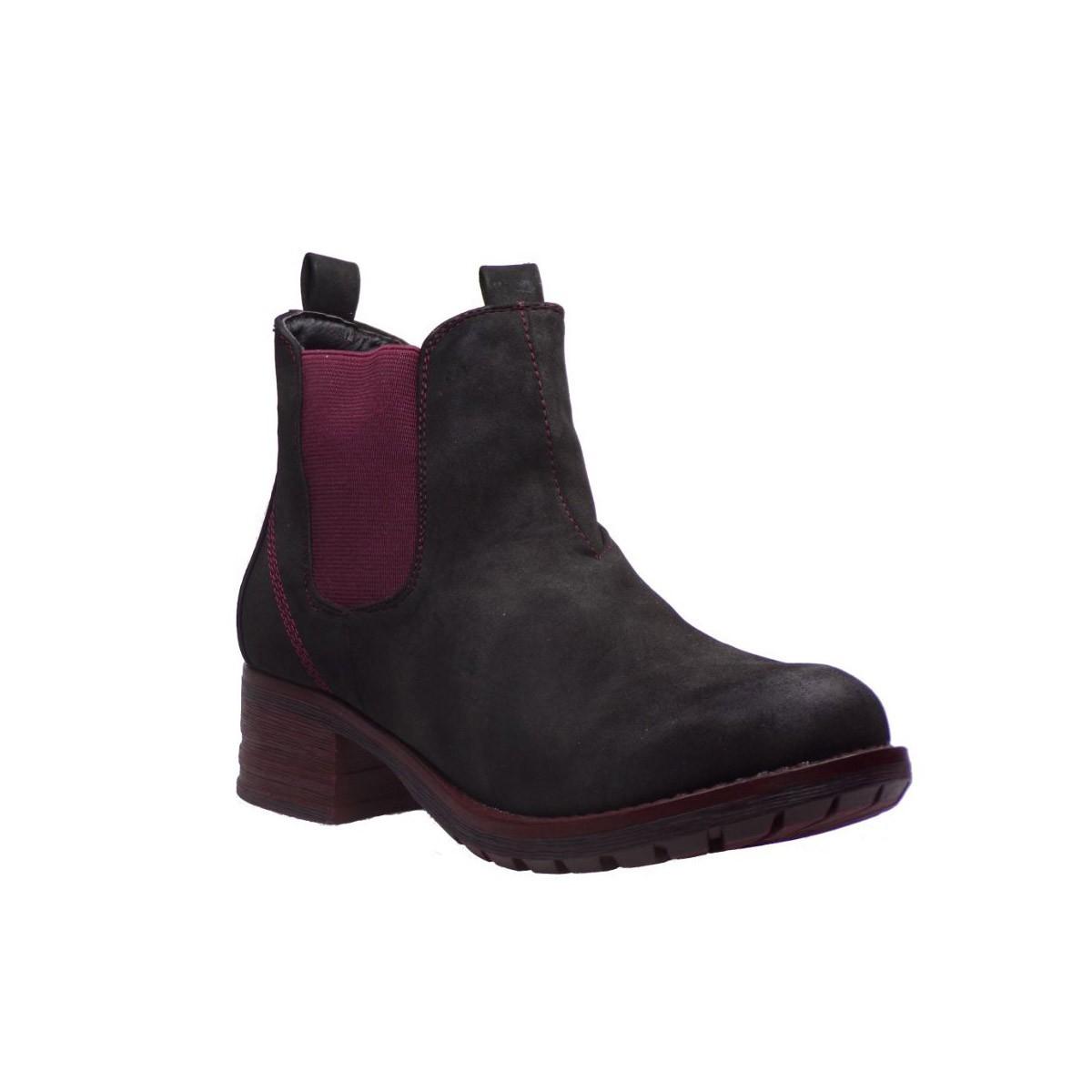 La Coquette Γυναικεία Παπούτσια 2512-1 Μαύρο-Κόκκινο La Coquette 2512-1 Μ