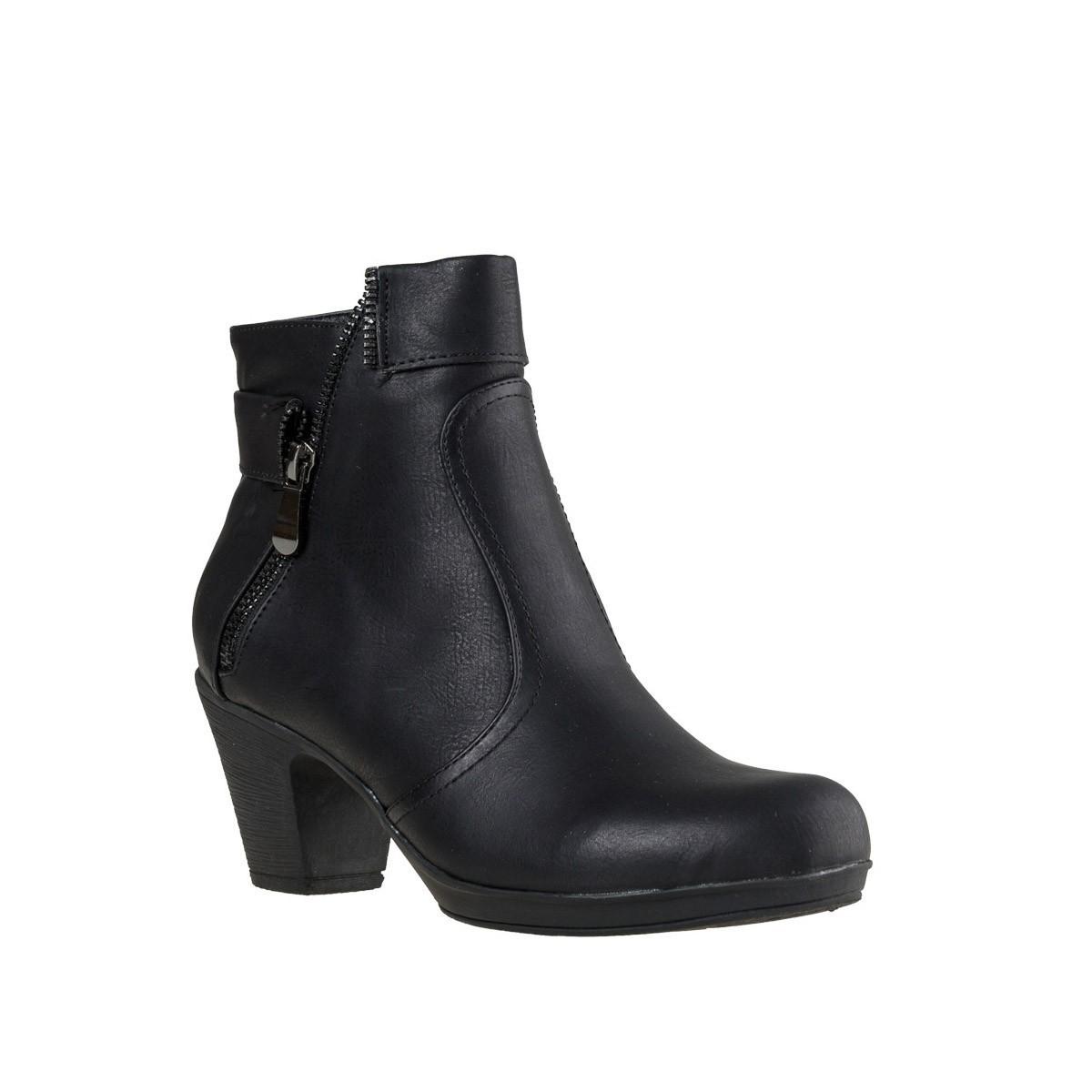 Envie Γυναικεία Παπούτσια Μποτάκια 64-0991 Μαύρο Envie 64-0991 mauro