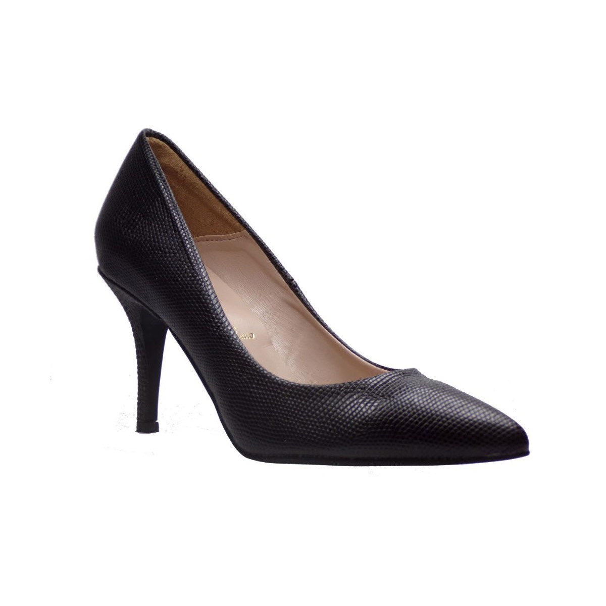 Alessandra Paggioti Γυναικεία Παπούτσια Γόβες 83001 Μαύρο Cobra Alessandra 83001 ΜΑΥΡΟ COBRA