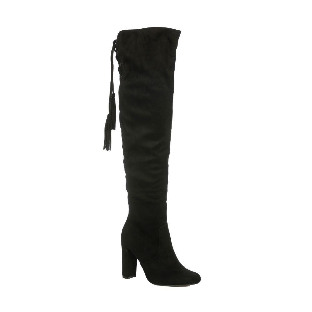 EXE Shoes Γυναικείες Μπότες DORETTA-710 Μαύρο Καστόρι EΧΕ DORETTA-710 M
