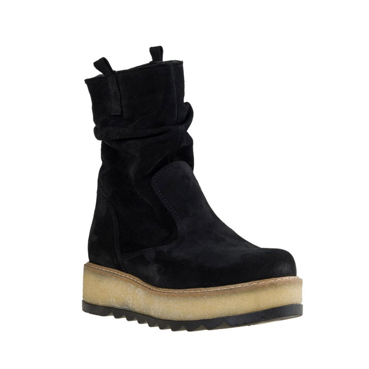 Fashion Icon Γυναικεία Παπούτσια Μποτάκια 09-358 Μαύρο