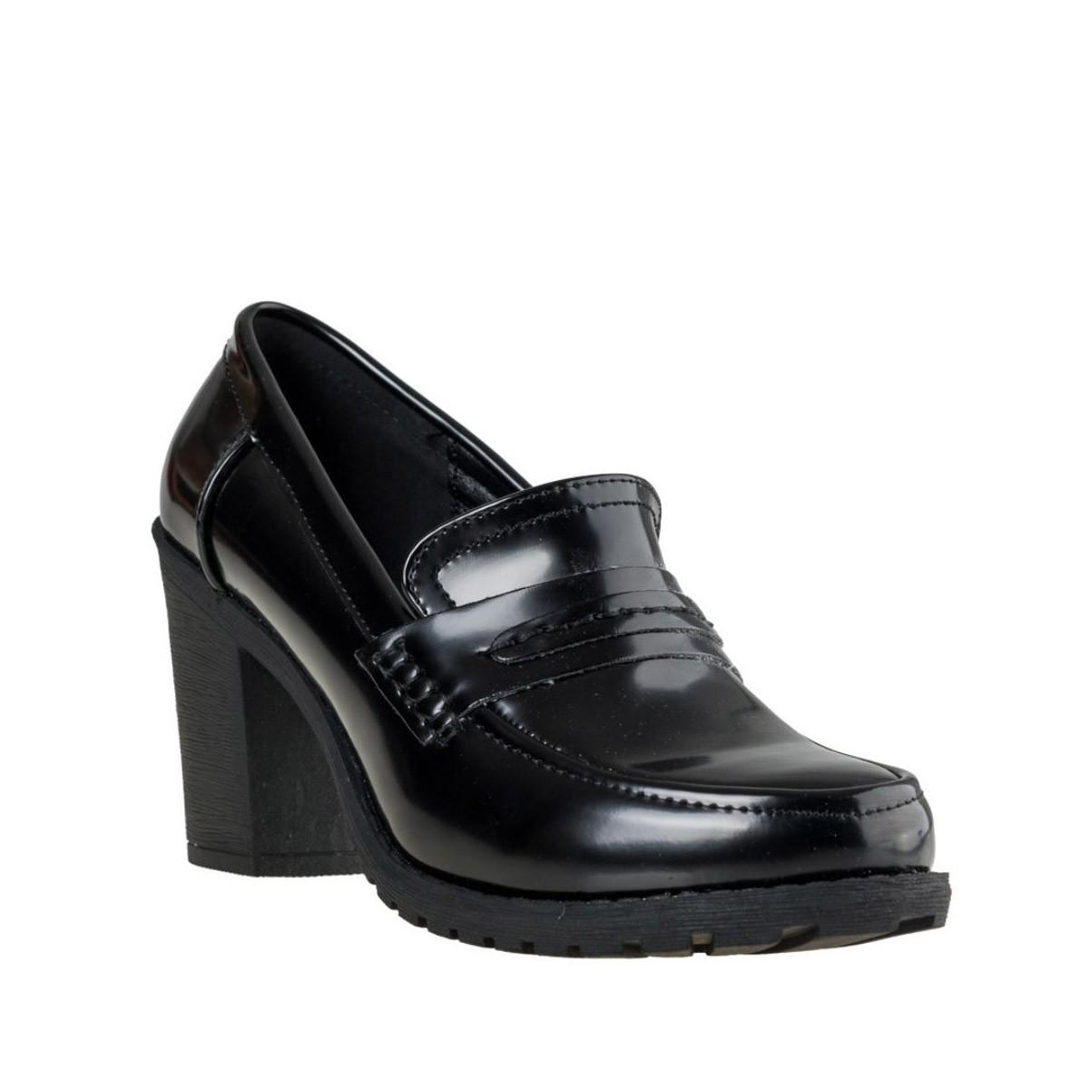 Fashion Icon Γυναικεία Παπούτσια Oxford F64-8031 Μαύρο Fashion icon F64-8031 M