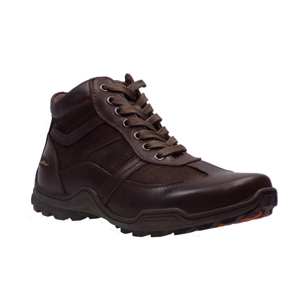 Road Ανδρικά Παπούτσια Μποτάκια 14926 Καφέ