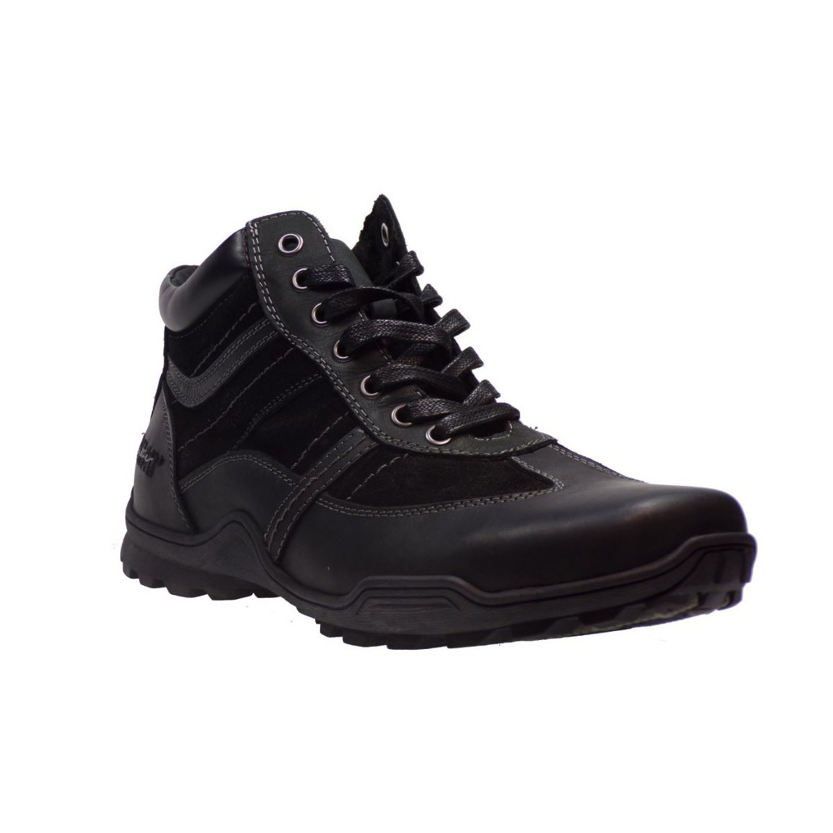 Road Ανδρικά Παπούτσια Μποτάκια 14926 Μαύρο
