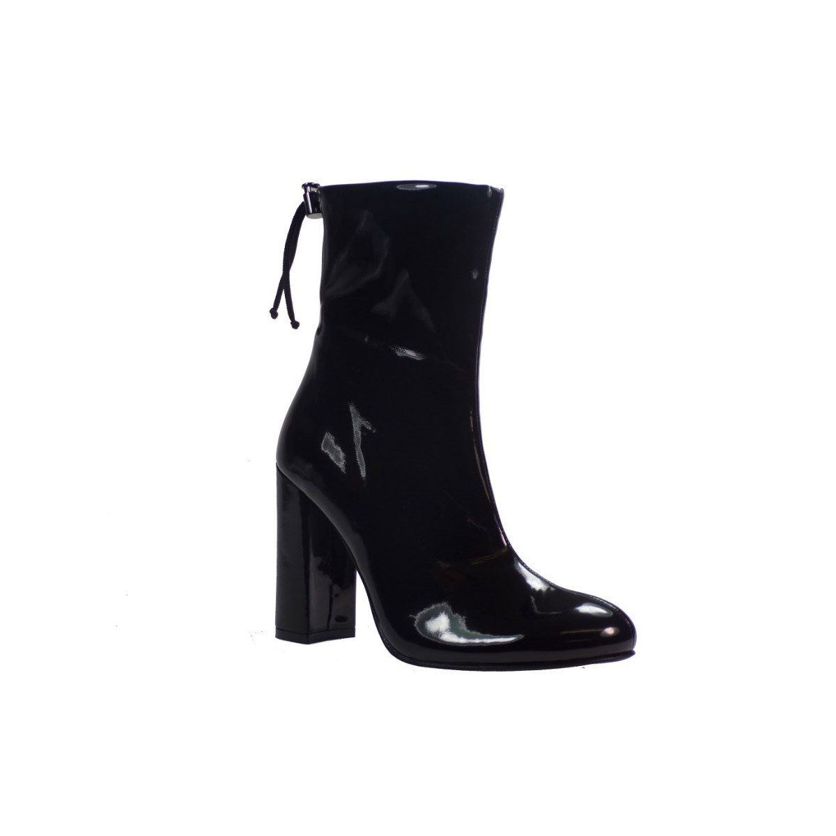 dc9e13dcd5b Katia Shoes Γυναικεία Mποτάκια 133/4942 Μαύρα Λουστρίνι Katia Shoes  133/4942 Μ BagiotaShoes