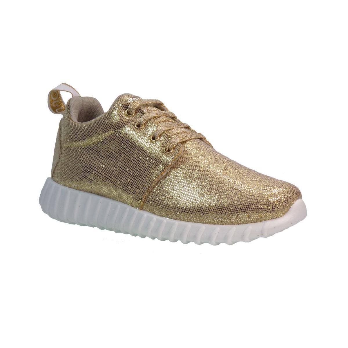 Liu-Jo Sneakers Παπούτσια Γυναικεία RUNNING SAORI Χρυσό Liu-Jo Running Saori Xryso