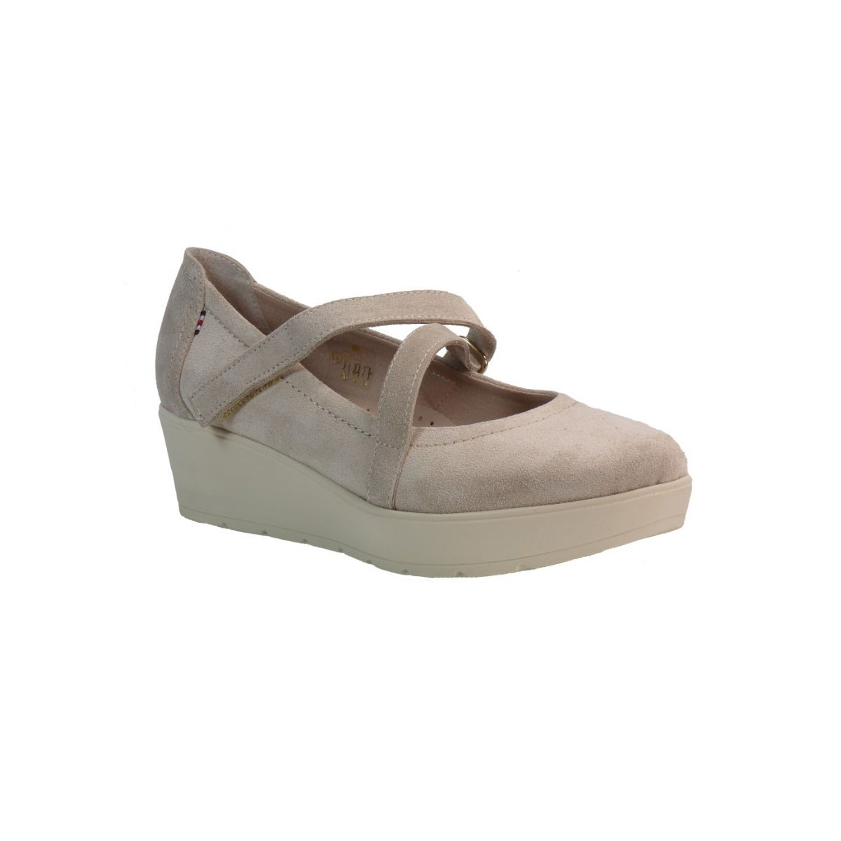 Envie Shoes Γυναικεία Παπούτσια Πλατφόρμα Ε02-05043 Μπεζ Envie Shoes Ε02-05043 Μπεζ