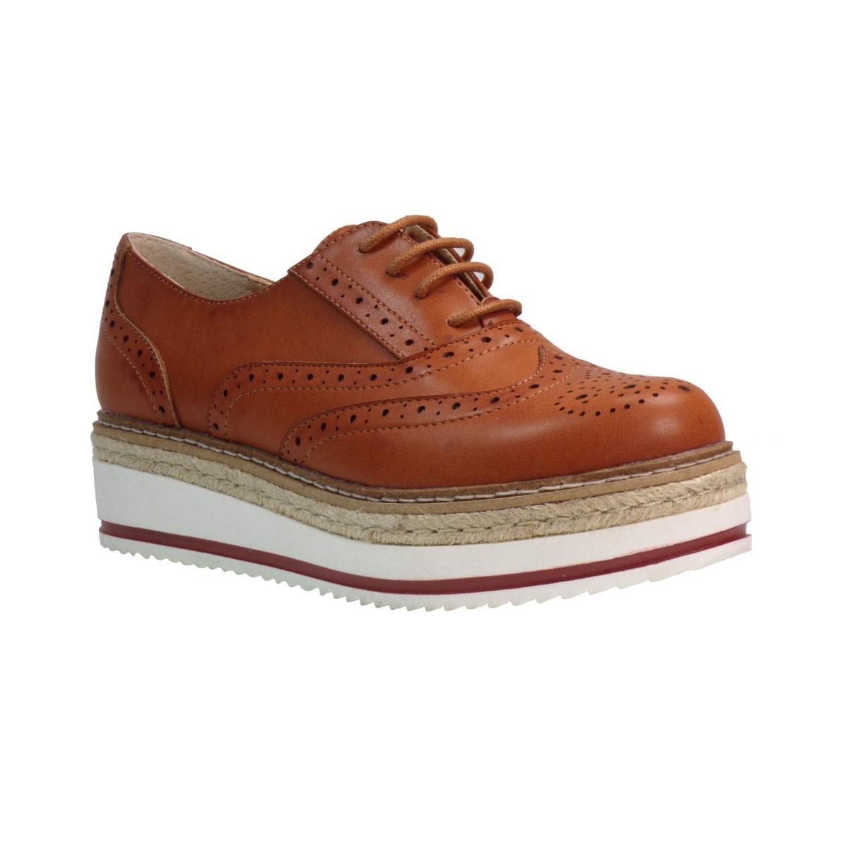 Exe Γυναικεία Παπούτσια Oxford BETTINA 717 Ταμπά Exe BETTINA 717 Ταμπά