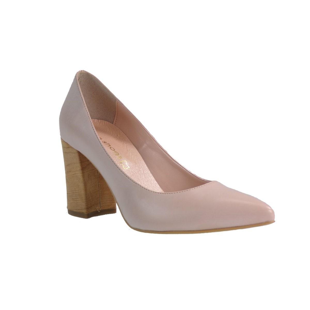 Katia Shoes Γυναικεία Παπούτσια ΓΟΒΑ 1789 Πούδρα Katia shoes ΓΟΒΑ 1789 Πούδρα