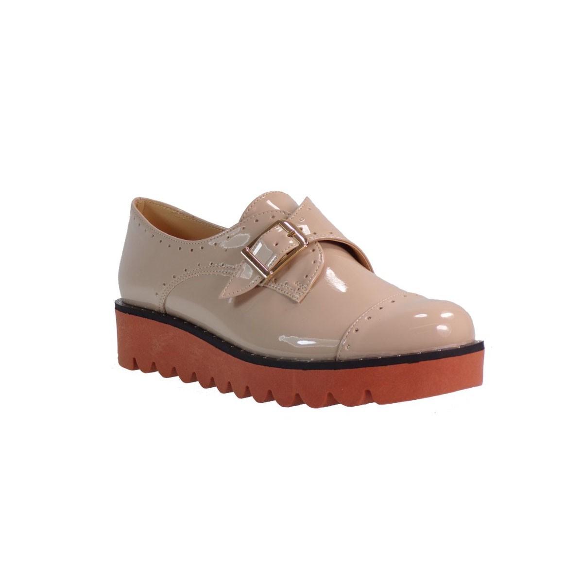 Katia Shoes Γυναικεία Παπούτσια 10 BIA Πούδρα Λουστρίνι Katia shoes 10ΒΙΑ Πούδρα