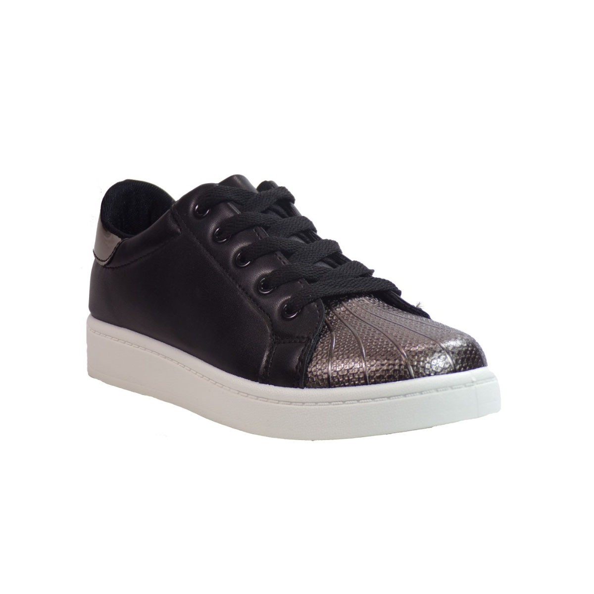 Bagiota shoes Sneakers Παπούτσια Γυναικεία W-128 Μαύρο Bagiota shoes W-128 M