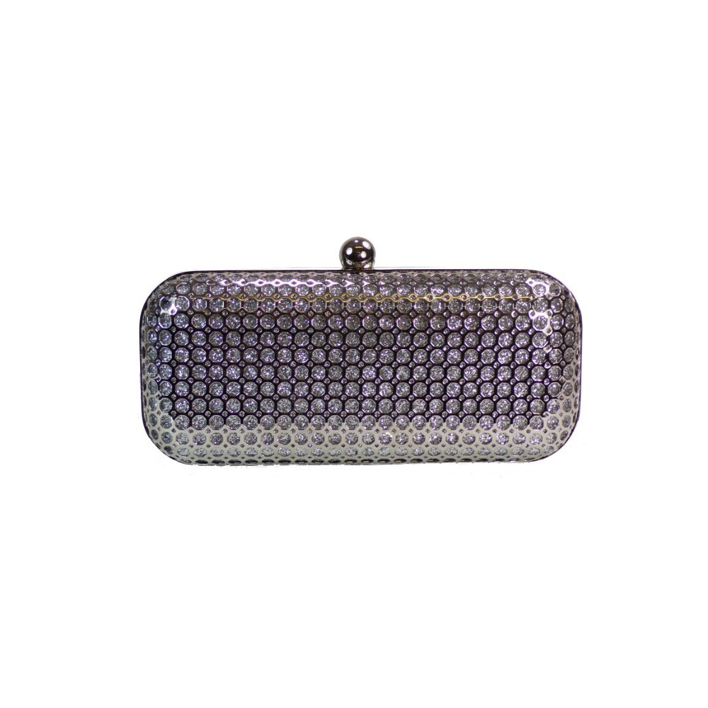 a66e9fc319a7 Koufidis Bags Βραδινά Τσαντάκια CLUTCH 5850 Ασημί