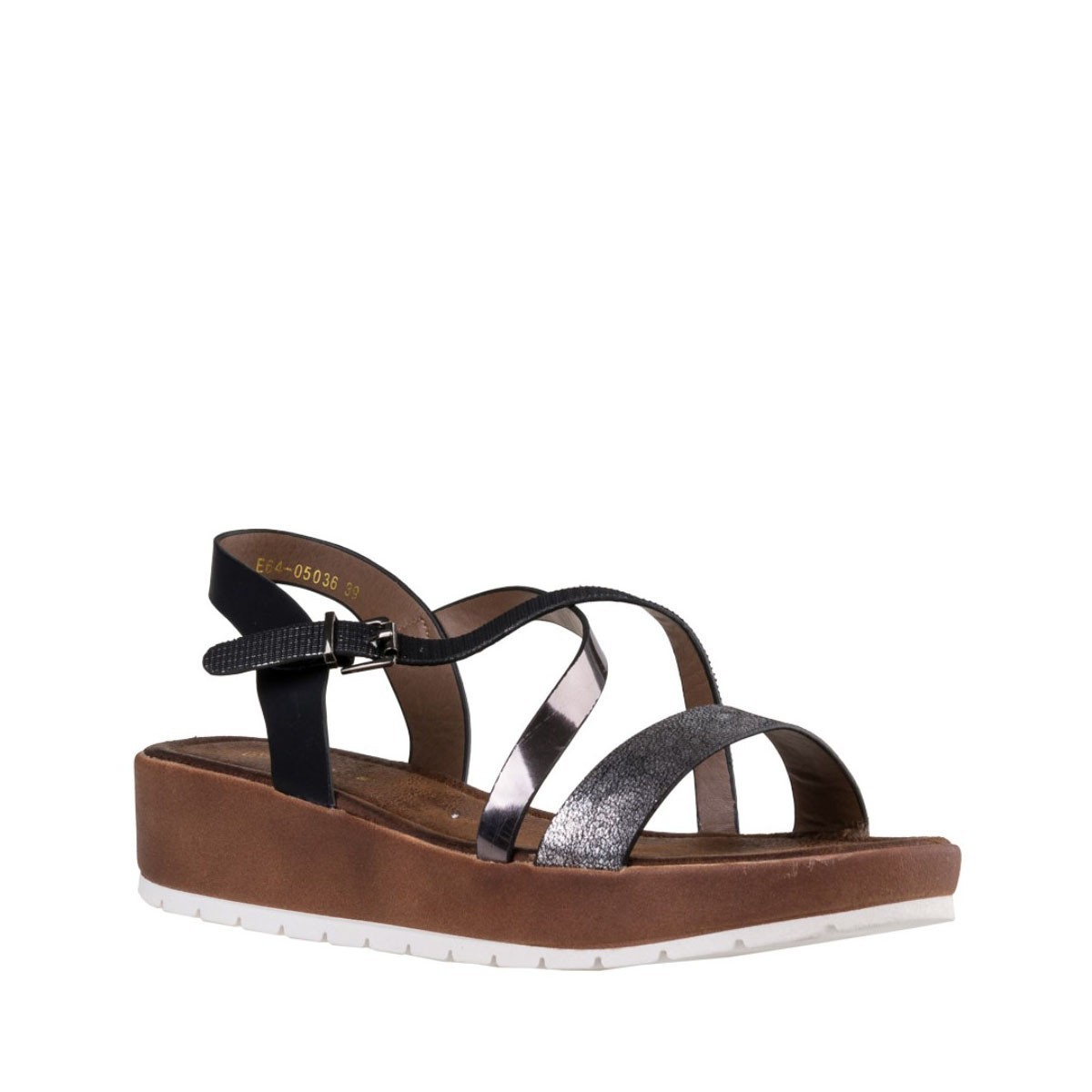 Envie Shoes Γυναικεία Πέδιλα E64-05036-34 Μαύρο
