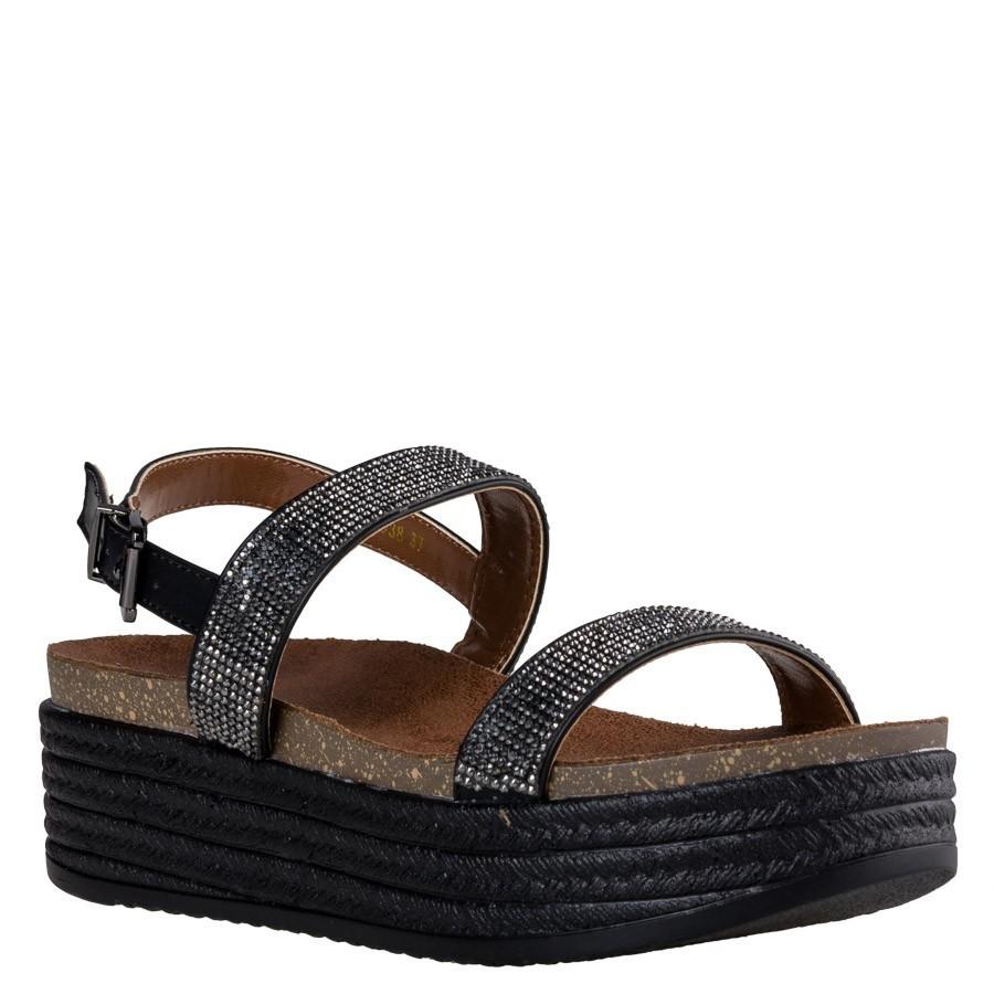 Envie Shoes Γυναικεία Πέδιλα E64-05038 Μαύρο Envie shoes Ε64-05038 Μ