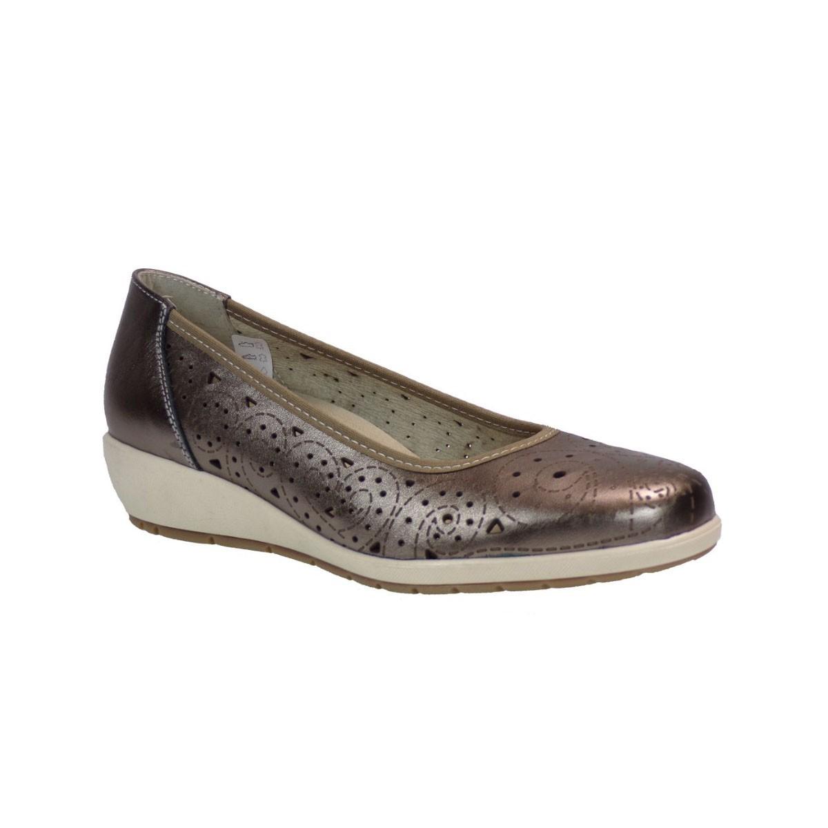 Kiarflex Γυναικεία Παπούτσια 17065.3 Μπρονζέ Kiarflex 17065,3 Μπρονζέ