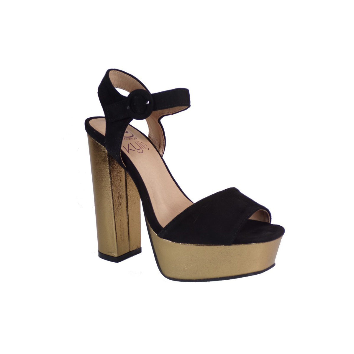 Kylie Shoes Γυναικεία Πέδιλα K1702001 Μαύρο
