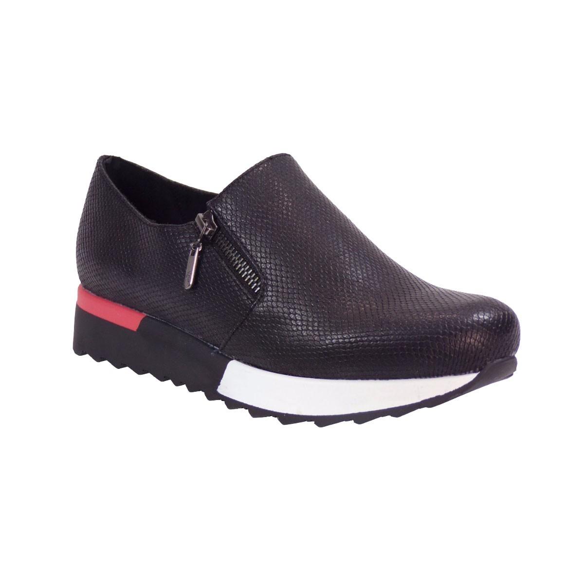 Exe Shoes Sneakers Γυναικεία Παπούτσια Slip on Gloria-495 Μαύρo ... 7c16b251e14