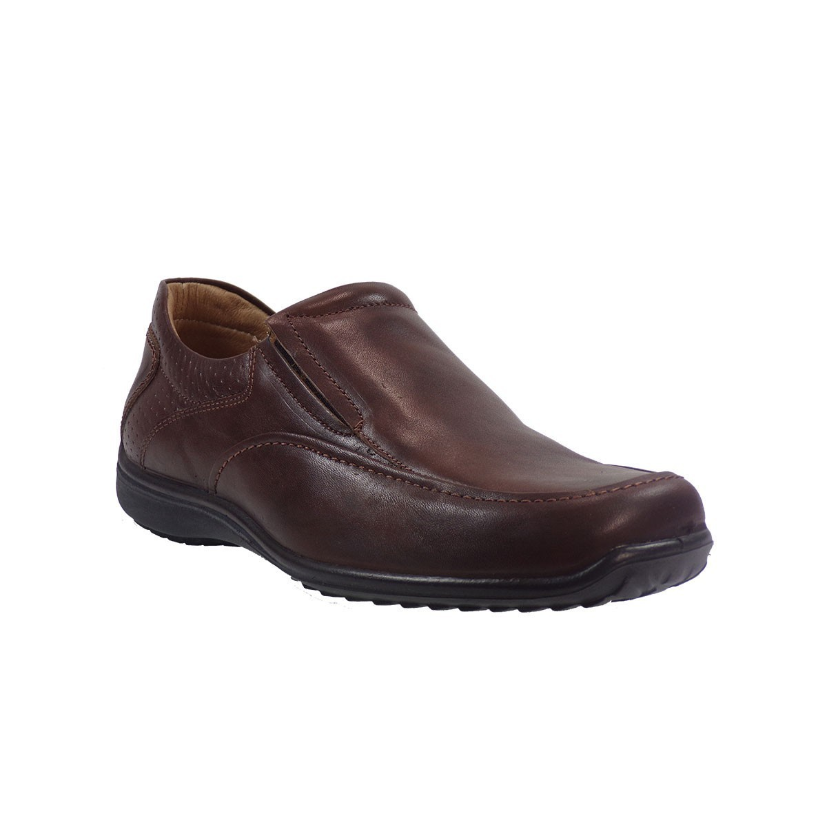 Aeropelma Duetto Ανδρικά Παπούτσια 608 Καφέ Δέρμα