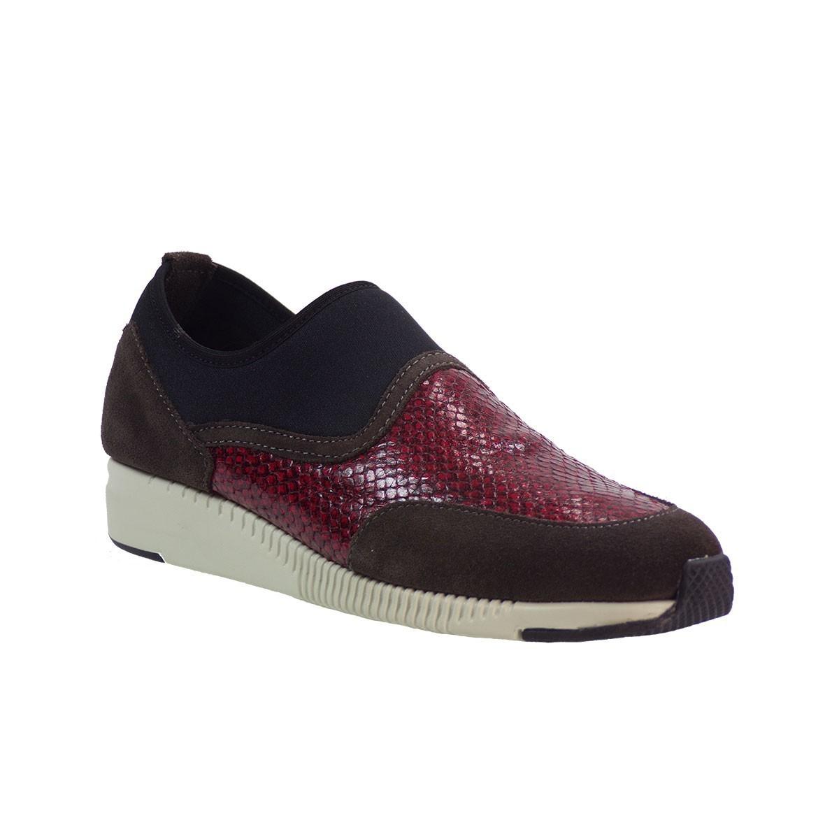Aerosoles Shoes Γυναικεία Παπούτσια NICE CURVES 868270735 Mπορντώ Δέρμα