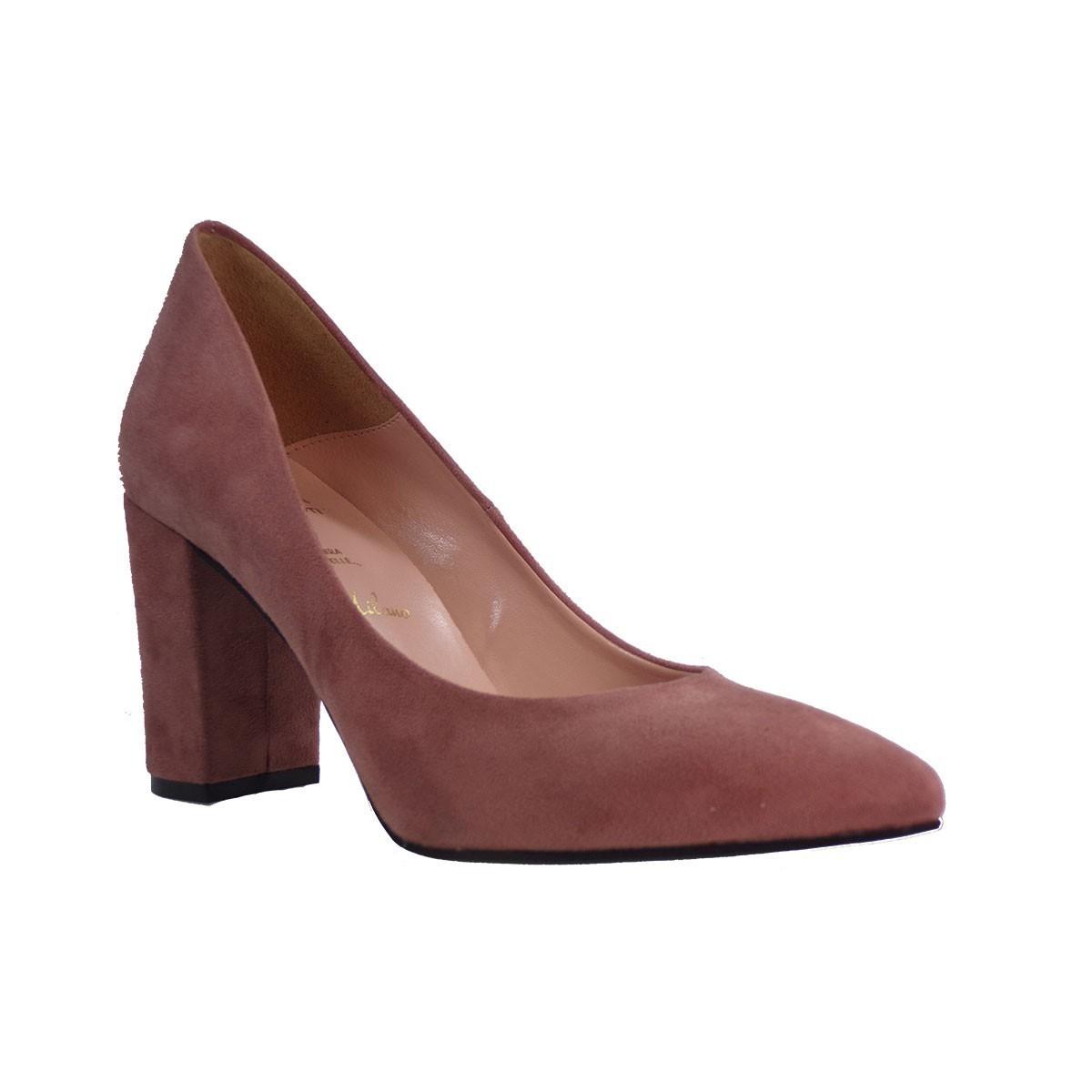 Alessandra Paggioti Γυναικεία Παπούτσια Γόβες 83002 Πούδρα Καστόρι