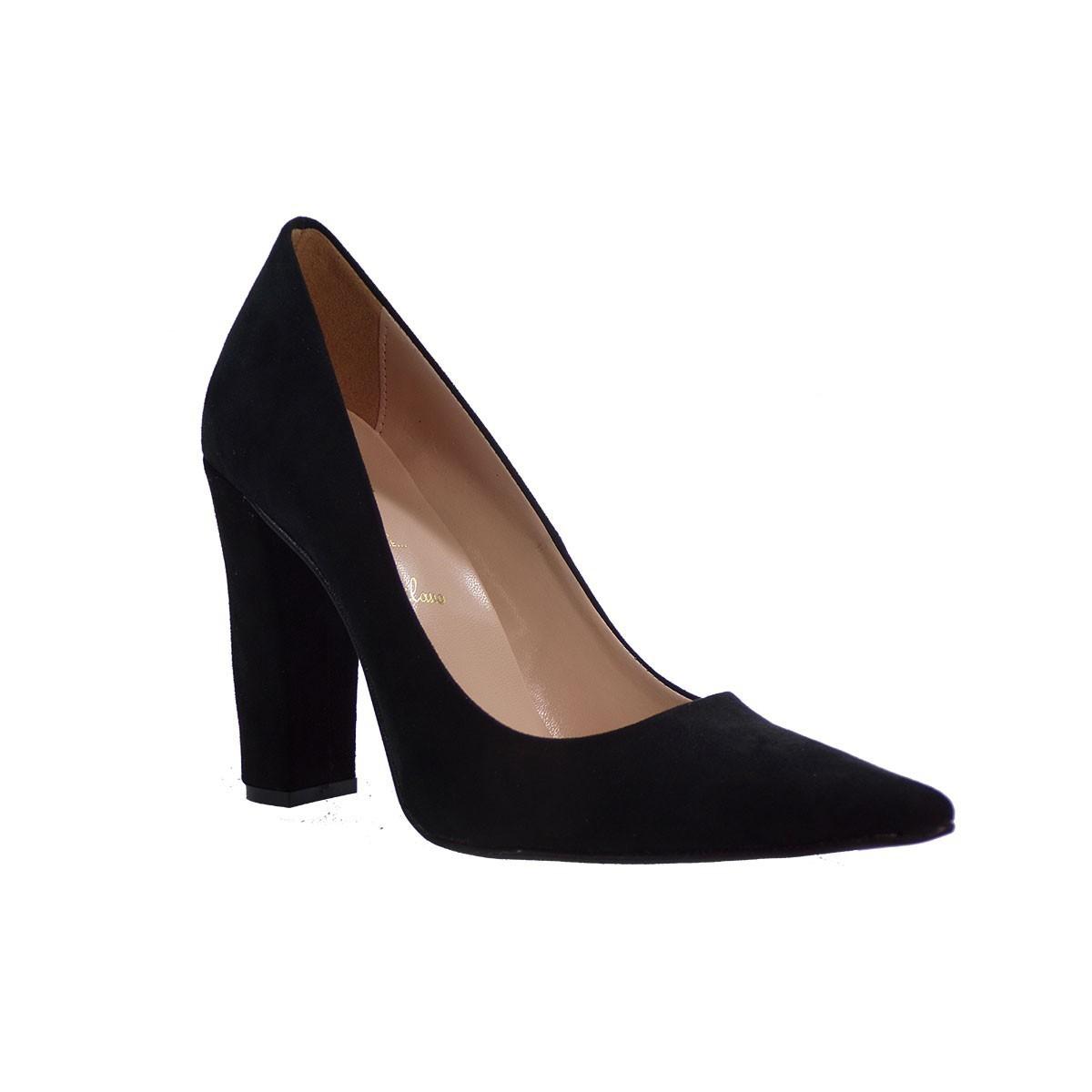 Alessandra Paggioti Γυναικεία Παπούτσια Γόβες 89002 Μαύρο Καστορί