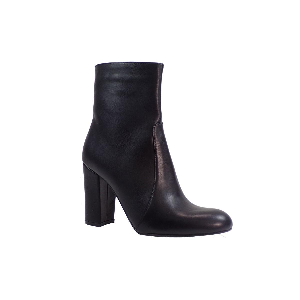 Fashion Icon Γυναικεία Παπούτσια Μποτάκια f09-06635 Μαύρο