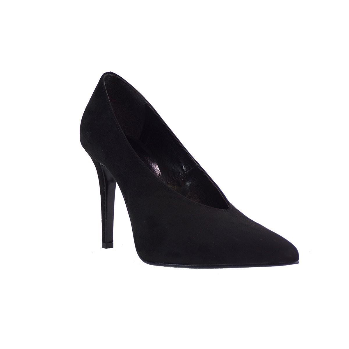 KATIA SHOES Γυναικεία Παπούτσια Γόβες 145/4807 Μαύρο Καστόρι