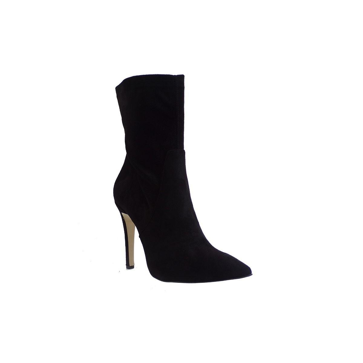 Fardoulis Shoes Γυναικεία Παπούτσια Μποτάκια 4452 Μαύρο Καστόρι