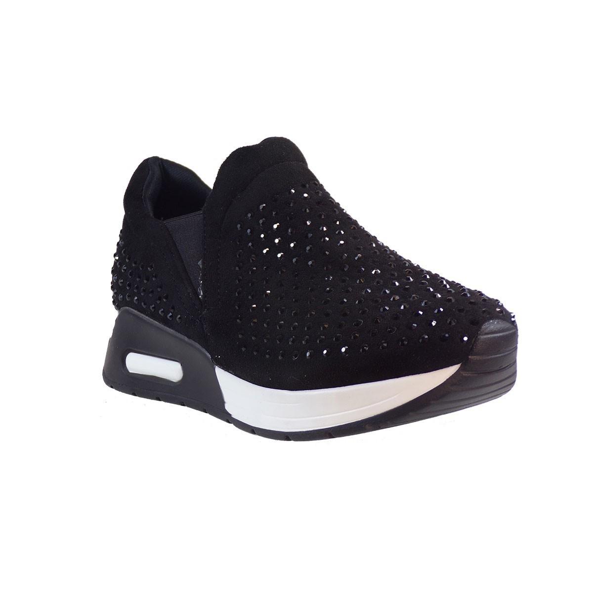 Bagiota shoes Sneakers Παπούτσια Γυναικεία DF3367 Μαύρο  54d0330d62b