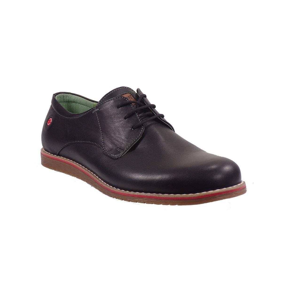Fratelli Robinson Ανδρικά Παπούτσια 1708 Μαύρο  ac2eb0dc221