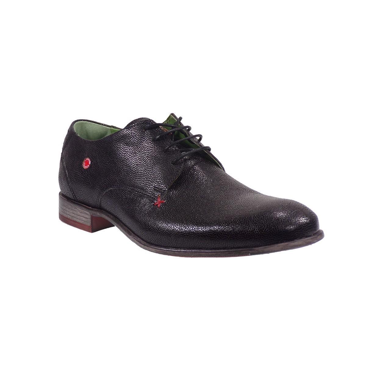 Fratelli Robinson Ανδρικά Παπούτσια 1733 Μαύρο
