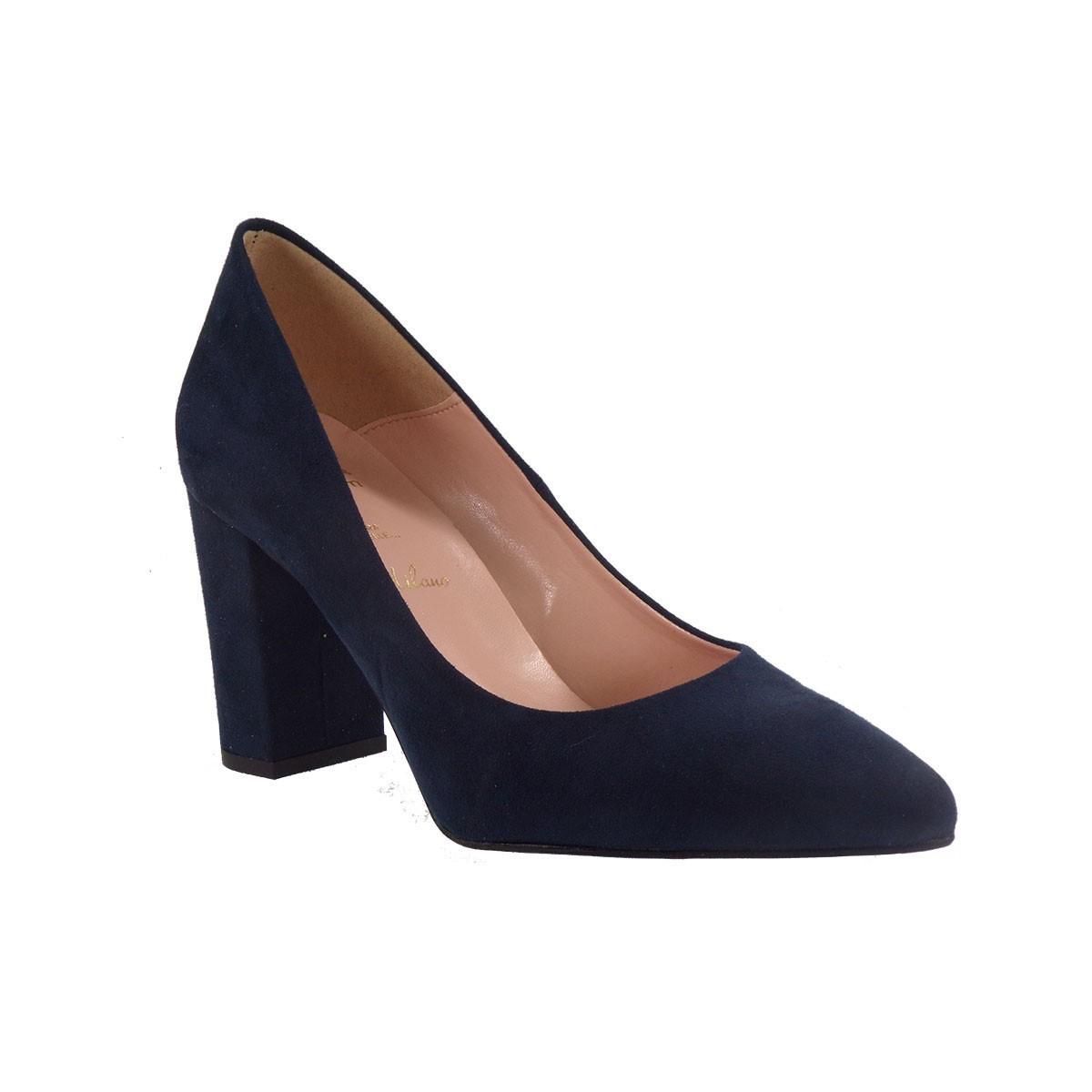 Alessandra Paggioti Γυναικεία Παπούτσια Γόβες 83002 Μπλέ Καστόρι