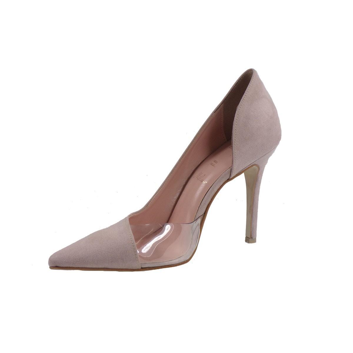 Alessandra Paggioti Γυναικεία Παπούτσια Γόβες 89420 Νude Καστόρι