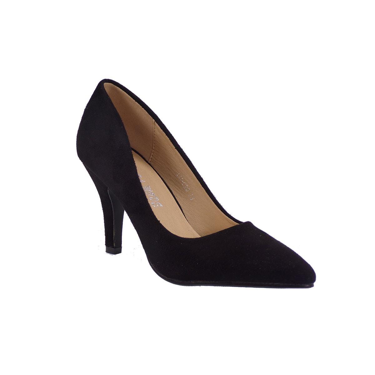 Bagiota Shoes Γυναικεία Παπούτσια Γόβες LM026 Μαύρο