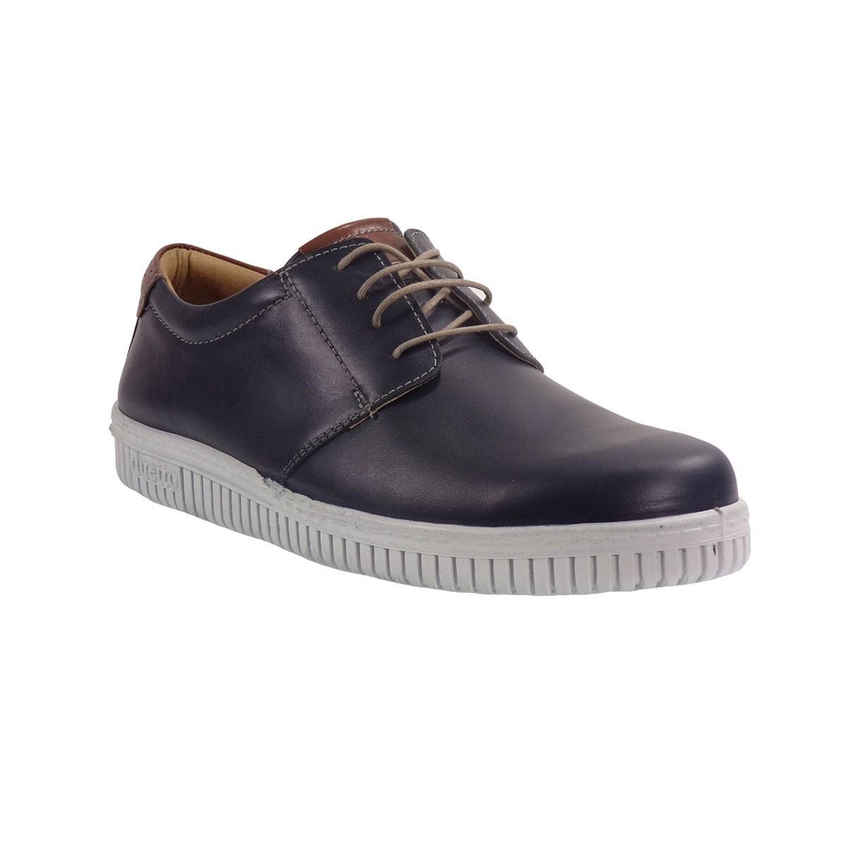 Aeropelma Duetto Ανδρικά Παπούτσια 209 Μπλέ Δέρμα