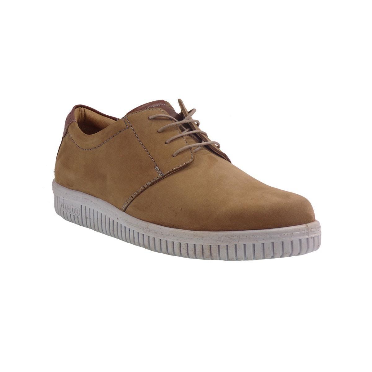 Aeropelma Duetto Ανδρικά Παπούτσια 209 Πούρο Δέρμα