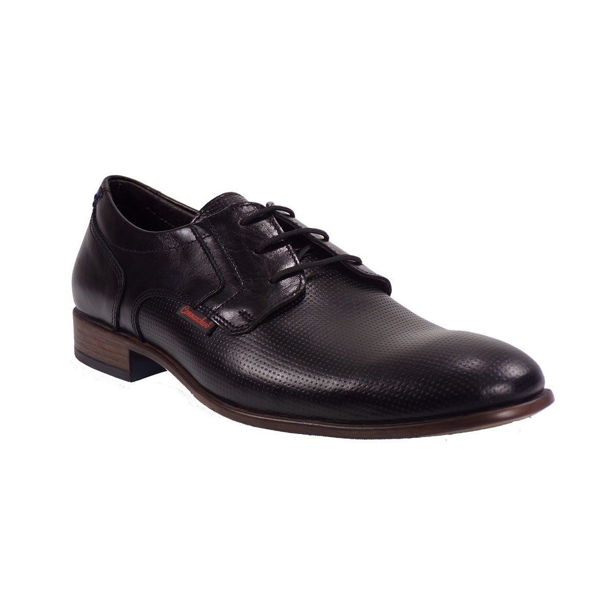 Commanchero Ανδρικά Παπούτσια 91629 Μαύρο Δέρμα