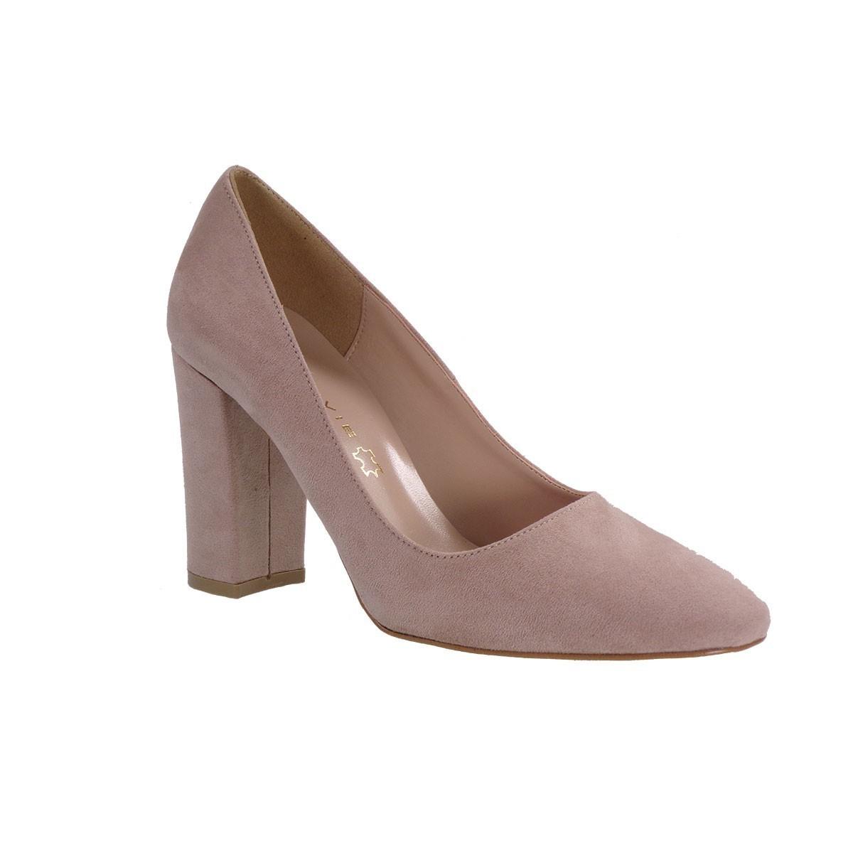 Envie Shoes Γυναικείες Παπούτσια Γόβες E02-07415 Νude