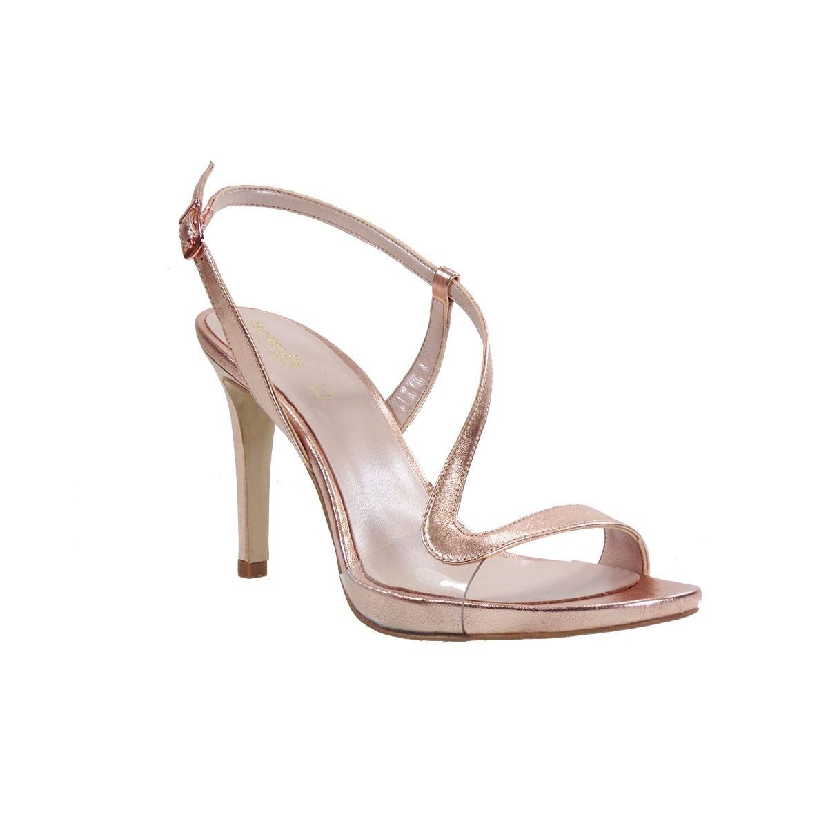 Fardoulis shoes Γυναικεία Πέδιλα 8053 Χαλκός Δέρμα