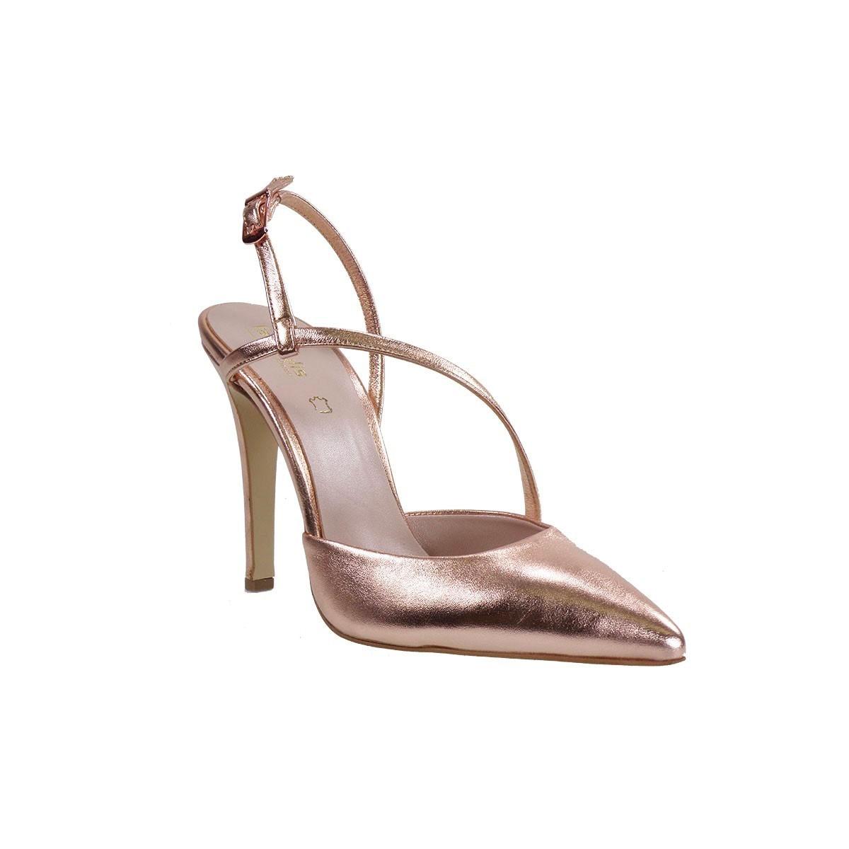 Fardoulis Shoes Γυναικείες Γόβες 2323 Χαλκός Δέρμα