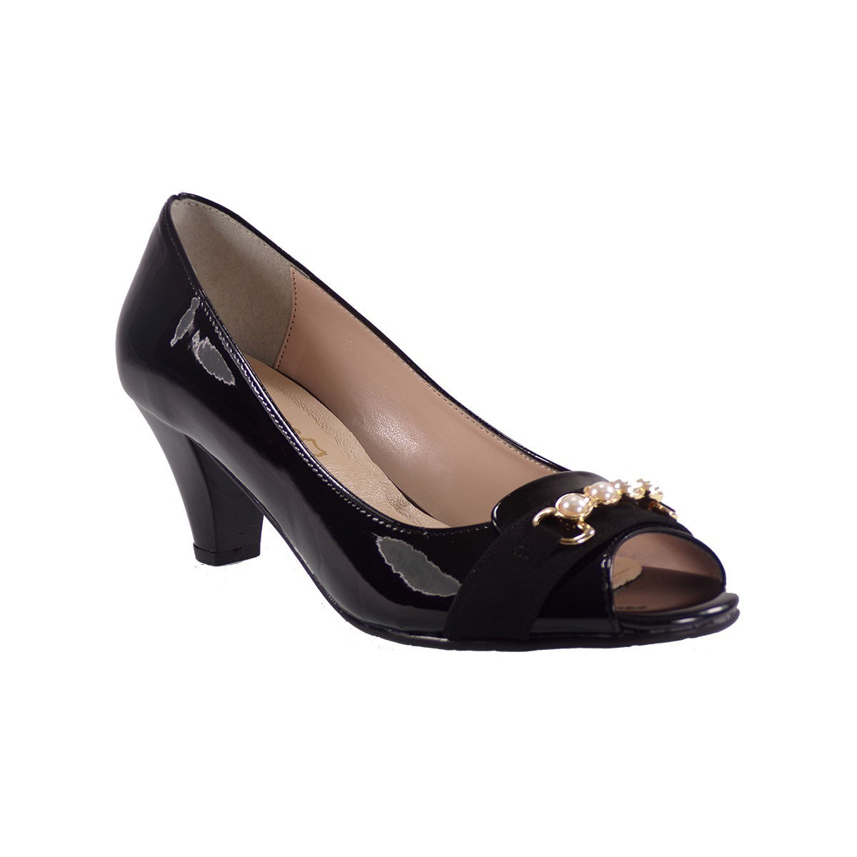 Katia Shoes Γυναικεία Παπούτσια Γόβες 89-872 Μαύρο