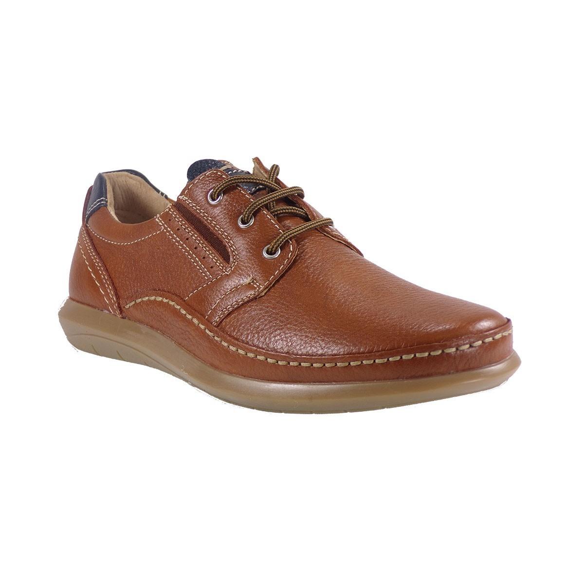 79a91ce441e ZEN Air Ανδρικά Παπούτσια 677497 Ταμπά Δέρμα