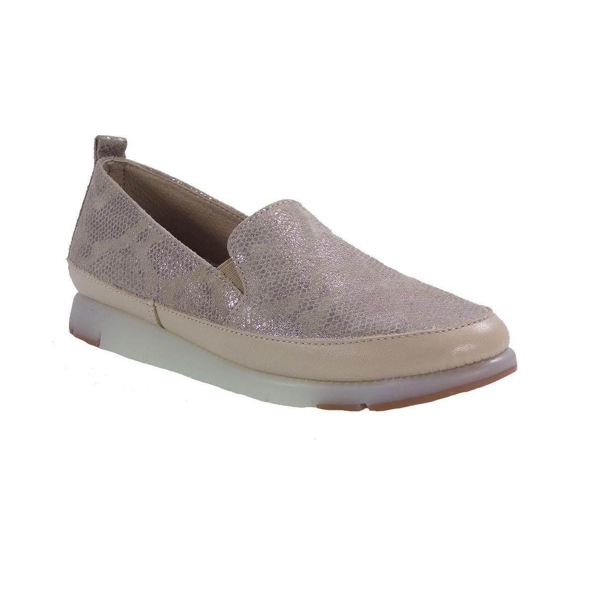 Aerosoles Shoes Γυναικεία Παπούτσια FAST LANE 887282222 Μπεζ Δέρμα