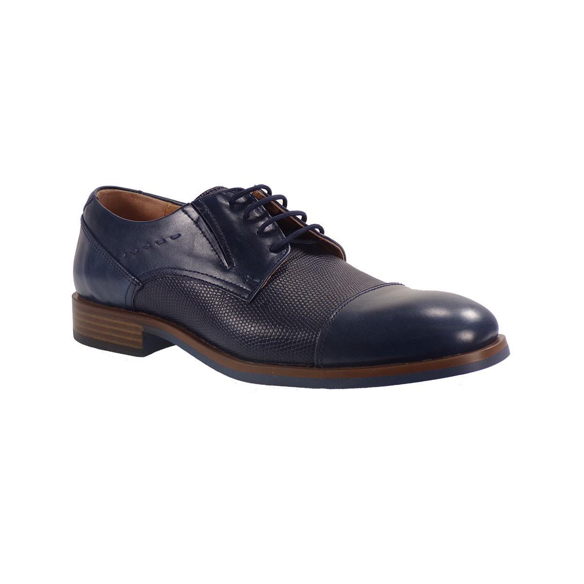 Commanchero Ανδρικά Παπούτσια 91664-927 Μπλέ Δέρμα