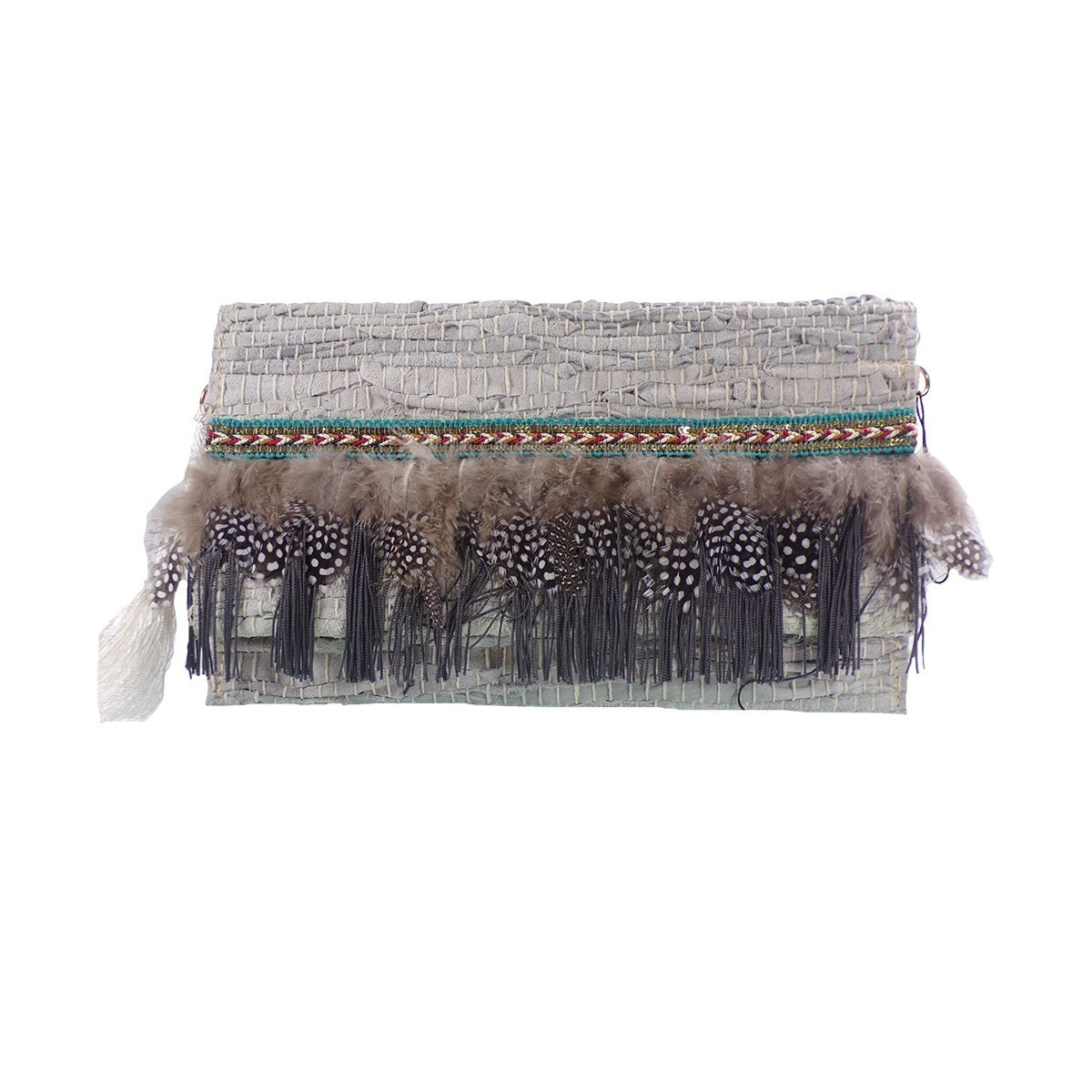 Exe Bags Γυναικεία Τσάντα Φάκελος 781 Πάγος- Μπέζ
