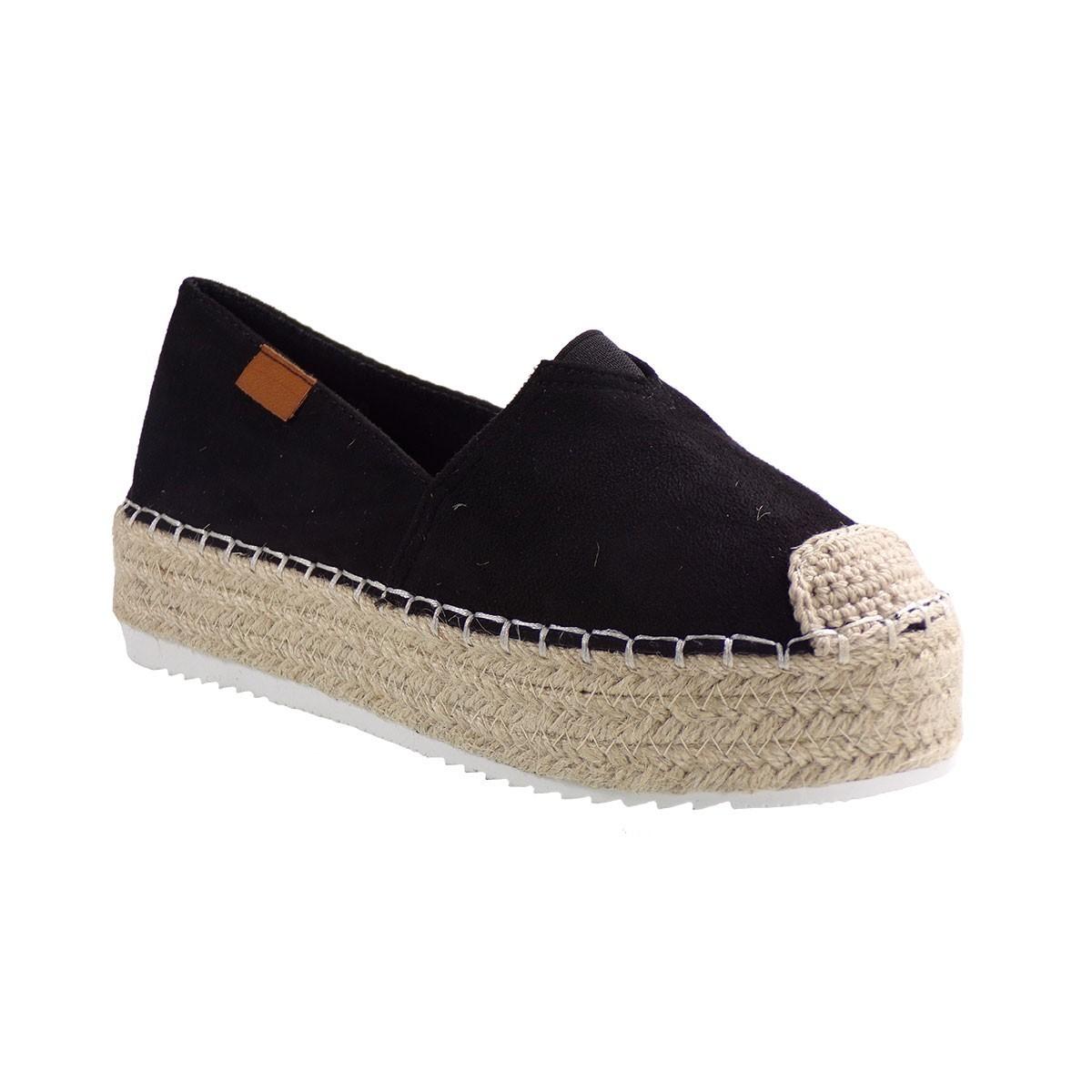 Bagiota shoes Εσπαντρίγιες Γυναικείες A8695 Mαύρο