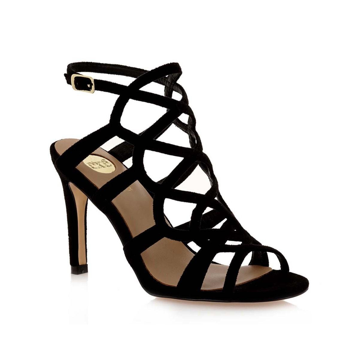 4103d98323c EXE Shoes Πέδιλα Γυναικεία REBECA-738 Μαύρο G47007385004 |Γυναικεία ...