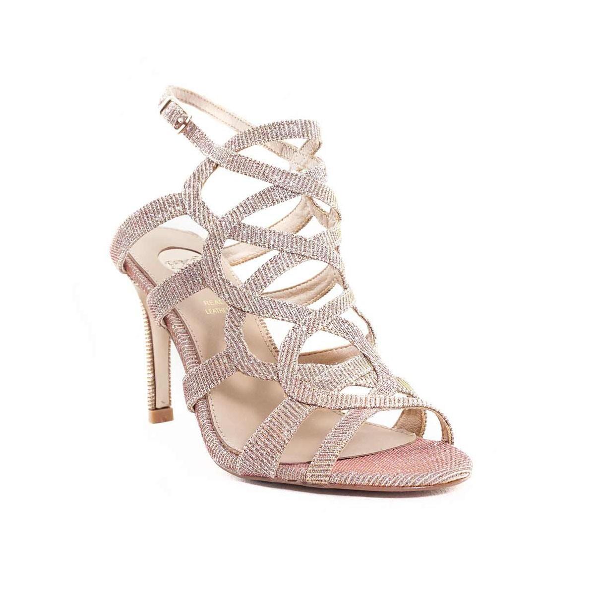 a5ed0981681 EXE Shoes Πέδιλα Γυναικεία REBECA-738 Nude Ιριδίζον G4700738562 ...